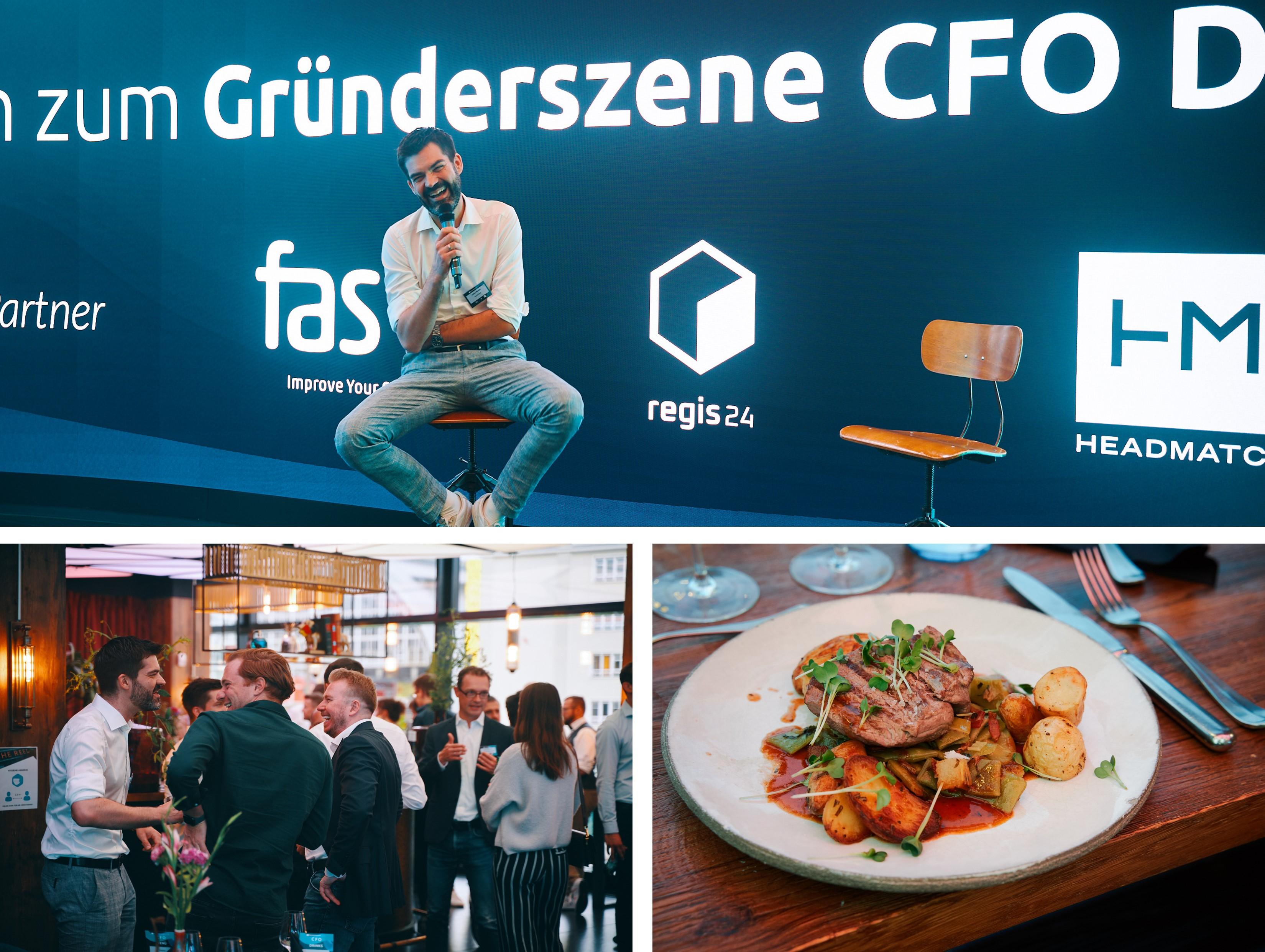 Headmatch beim Gründerszene CFO Dinner